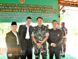 Berita Foto: Pengurus LDII Sulsel Ikuti FGD Pembinaan Komsos di Markas Kodam XIV Hasanuddin