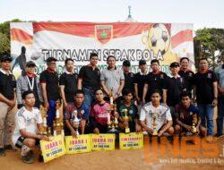 Laga Final Sepak Bola Komsos Kreatif Kodam XIV Hasanuddin dan LDII Sulsel, Klub Ini Juaranya