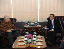 Menkumham Menerima Kunjungan Kehormatan Duta Besar Amerika Serikat Untuk Indonesia