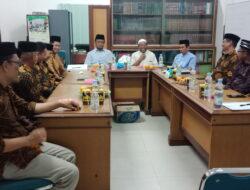 Pasca Muswil, DPW LDII Sulsel Silaturahim dengan MUI Sulsel