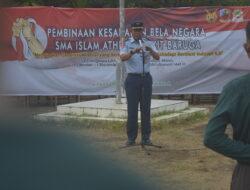 Bela Negara di Lanud Sultan Hasanuddin, Siswa SMA Athirah Bukit Baruga Dapatkan Pembinaan Karakter