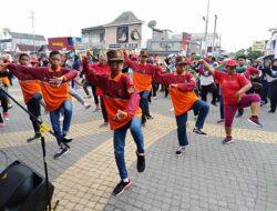 CFD Ceria bersama Flashmob Beksan Wanara Sako SPN Bantul