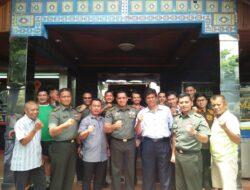 Pengurus LDII Sulsel Silaturahim dan Makan Siang Bersama Perwira Kodam XIV Hasanuddin