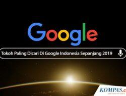 5 Tokoh Paling Banyak Dicari di Google Indonesia Sepanjang 2019