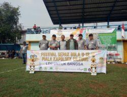 VIDEO: LDII Larangan Helat Festival Sepakbola U-12 Piala Kapolsek Ciledug