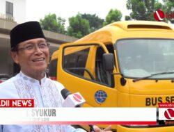 VIDEO: Ponpes LDII Menerima Bantuan Bus Sekolah