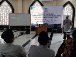 Tingkatkan Kemampuan Kelembagaan, Wahdah Islamiyah Sulbar Gelar TOT