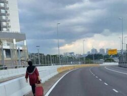 Perjuangan Seorang Ibu di Tengah Lockdown, Jalan Kaki ke Singapura Demi Rawat Anak Sakit