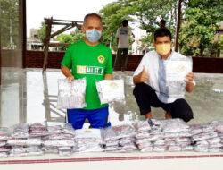 Wujud Keterampilan, Alumni LPK Budi Utomo Makassar Jahit Masker Cegah Covid-19