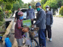 Turun ke Jalan, LDII Bagikan Paket Sembako bagi Warga Terdampak COVID-19