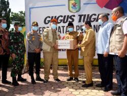 Pemprov Sumut Salurkan Bantuan Sembako JPS sebanyak Rp11,4 Miliar di Kabupaten Sergai