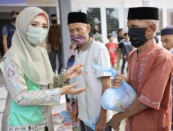 200 Paket Sembako Disalurkan Wakil Ketua GTPP Aceh di Kabupaten Aceh Jaya