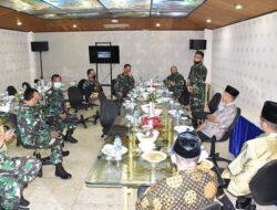 LDII Sulsel Silaturahim dengan Staf Ahli Pangdam XIV Hasanuddin yang Akan Pindah Tugas