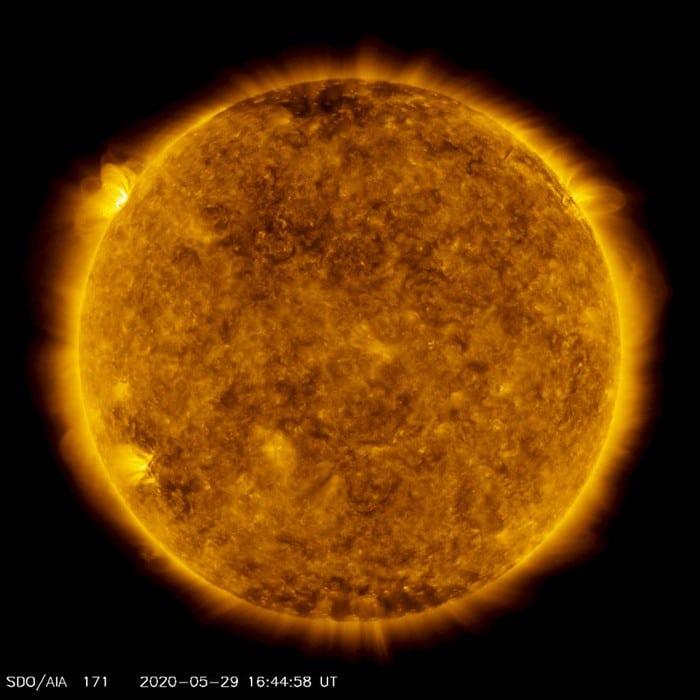 Ledakan matahari
