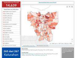 Seluruh Kelurahan di Jakarta Masuk Zona Merah Covid-19