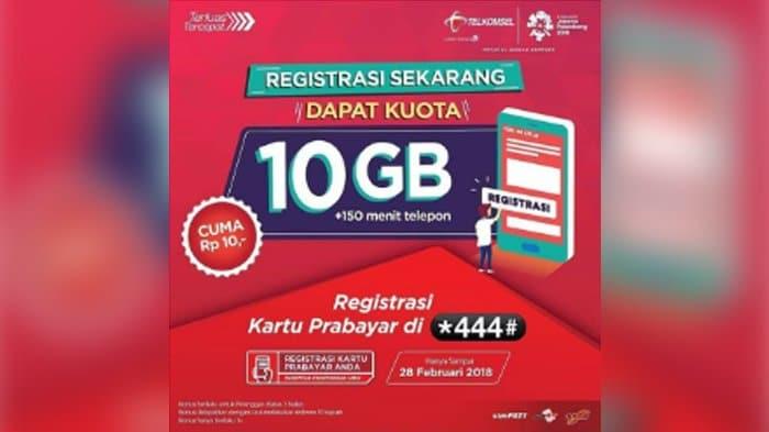 Begini Cara Dapat Kuota Internet Untuk Belajar 10 Gb Telkomsel Cuma 10 Rupiah Lines Id