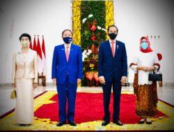 Bertemu Presiden Jokowi, Jepang Beri Pinjaman Rp 6,9 Triliun Tangani Covid-19