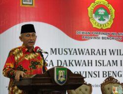 Muswil LDII Bengkulu, Pj Ketum Minta Tingkatkan Kontribusi untuk Cegah Dampak Wabah