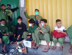 Persinas ASAD bersama Komunitas Pencak Silat Galang Dana Korban Kebakaran DOK IX Jayapura
