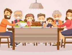 Dari Meja Makan, Orangtua Bisa Latih Karakter Anak