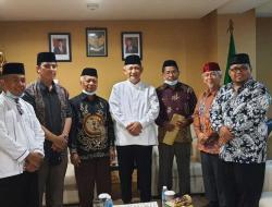 Pererat Silaturahmi, MUI Sulawesi Barat Sambangi Kantor DPP LDII