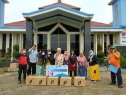 LDII Sumedang Terima Bantuan Paket Sembako dari BSM