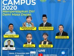 Persiapan Masuk Perguruan Tinggi, SMABU Gelar Webinar Expo Campus 2020