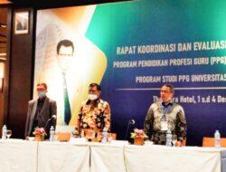 PPG UNM Gelar Rapat Koordinasi dan Evaluasi Pelaporan Kegiatan PPG Tahun 2020