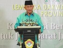 Ketum DPP LDII: Kebencanaan, Ormas Berperan Penting Bantu Pemerintah
