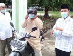 Cegah Penyebaran Covid-19, LDII Prabumulih Bagikan Masker