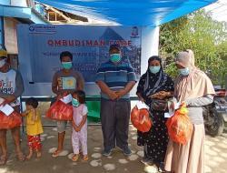 Ombudsman Care, Salurkan Logistik dan Uang Tunai untuk Korban Gempa