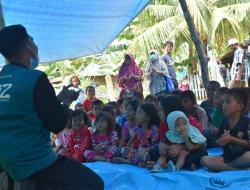 Tim Kesehatan Wahdah Tangani Trauma Healing Korban Gempa Sulbar