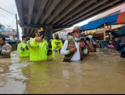 Kerja Sama LDII-Senkom Subang Bantu Korban Banjir