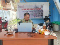 Di Bawah Tenda Darurat, Ombudsman Sulbar Tetap Buka Layanan Pengaduan