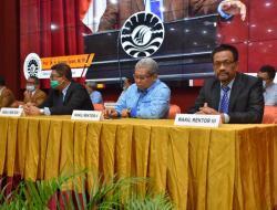 WR III UNM Hadiri Sosialisasi Program Beasiswa Bank Indonesia 2021