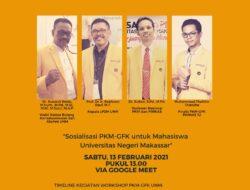 Wakil Rektor III Buka Workshop PKM GFK UNM
