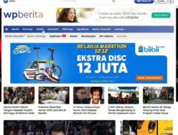 Wpberita, Portal Berita Terbaru Theme WordPress Mirip Detik 2021