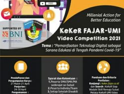 KeKer FAJAR dan UMI Gelar Video Competition 2021