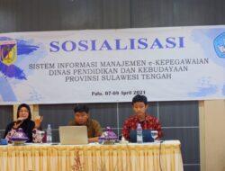 Tak Perlu Kirim Dokumen Manual, Dikbud Sulteng Sosialisasikan E-kepegawaian