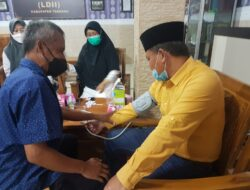Sambut Ramadan, Warga LDII Tabanan Ikuti Pemeriksaan Kesehatan