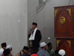 Ketua PAD LDII Mimika Safari Ramadan di Masjid Al-Aqsho