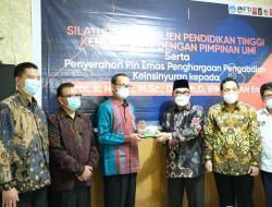 Silaturahmi dengan Pimpinan UMI, Dirjen Dikti: PSPPI di Indonesia Lahir dari UMI