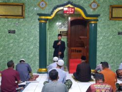 Ketua PAD LDII Mimika Safari Ramadan di Masjid Al Askar Makodim 1710 Mimika