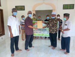 LDII Jebres Salurkan Bantuan Renovasi Musala Taman Satwa Taru Jurug Kota Surakarta