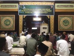 Wakil Ketua PAD LDII Mimika Safari Ramadan di Masjid Al Hidayah Brigif 20/3/Kostrad