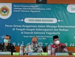 Berkontribusi Membangun Keharmonisan di DIY, LDII Gelar FGD Keberagaman Agama dan Budaya