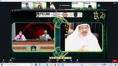 Milad ke-29, FK UMI Gelar International Seminar 'Medicine and Islamic Civilization'