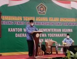 Silaturahmi Tokoh Agama Islam Kemenag DIY Bahas Moderasi Beragama