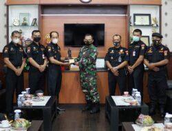 Silaturahmi Syawal, Senkom Kunjungi Kodim 0727 Karanganyar