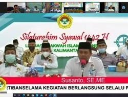 Gelar Silaturahmi Syawal, Susanto: LDII Kalbar Akan Berikan Manfaat Bukan Beban
